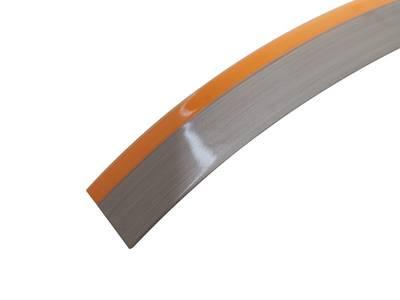 Кромка для ДСП и МДФ плит REHAU (PMMA, 3D, оранжевый глянец, 23х1 мм, двухцветная) Изображение 2