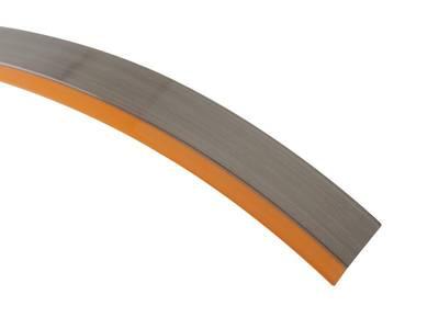 Кромка для ДСП и МДФ плит REHAU (PMMA, 3D, оранжевый глянец, 23х1 мм, двухцветная) Изображение 3