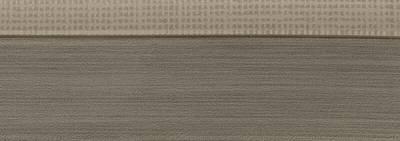 Кромка 3D текстиль серебро глянец 23х1 мм, PMMA, двухцветная ALVIC Изображение