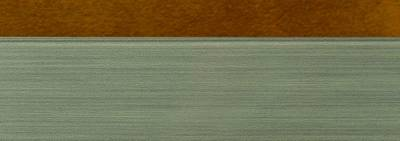 Кромка 3D PMMA 23х1мм, двухцветная глянец королевское золото куско Изображение