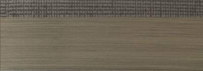 Кромка для ДСП и МДФ плит REHAU (PMMA, 3D, текстиль графит глянец, 23х1 мм, двухцветная) Изображение