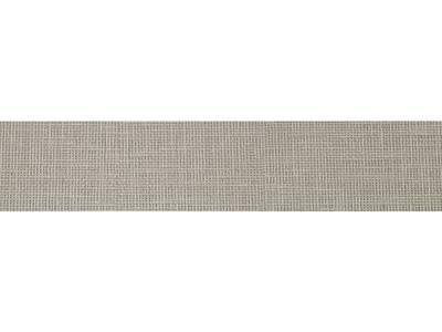 Кромка ABS 22х1 мм, одноцветная, тессуто текстиль серебро Изображение
