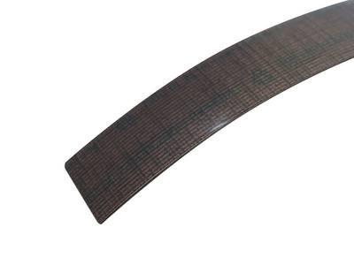 Кромка для ДСП и МДФ плит REHAU (ABS, 3D, текстиль золото глянец, 23х1 мм, одноцветная) Изображение 2
