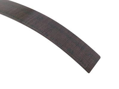 Кромка для ДСП и МДФ плит REHAU (ABS, 3D, текстиль золото глянец, 23х1 мм, одноцветная) Изображение 3