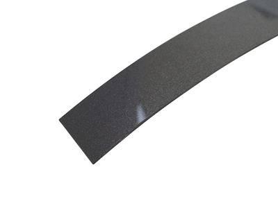 Кромка для ДСП и МДФ плит MKT (ABS, антрацит металлик глянец, 23х1 мм, фольгированная, одноцветная) Изображение 2