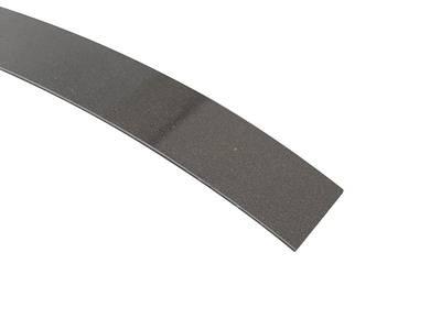 Кромка для ДСП и МДФ плит MKT (ABS, антрацит металлик глянец, 23х1 мм, фольгированная, одноцветная) Изображение 3