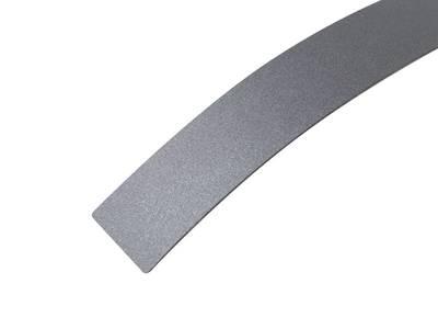 Кромка ALPHA-TAPE Metallica антрацит Metaldeco 23х1 мм,  в защитн. пленке, ABS Изображение 2