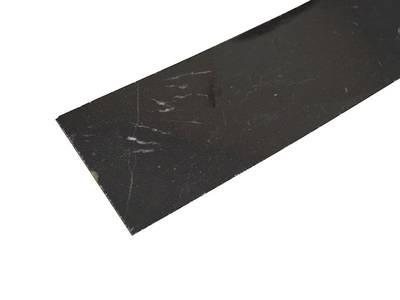 Кромочная лента HPL мрамор черный глян, L5544 LU 4200*44 мм, термоклеевая Изображение