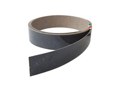 Кромочная лента HPL мрамор черный глян, L5544 LU 4200*44 мм, термоклеевая Изображение 4