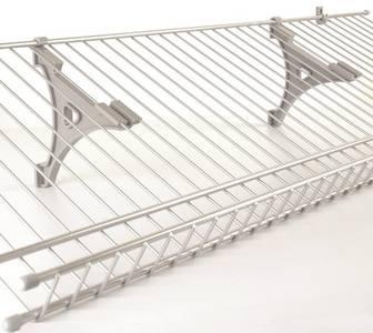 Кронштейн сетчатой полки, серый FIRMAX Изображение 4