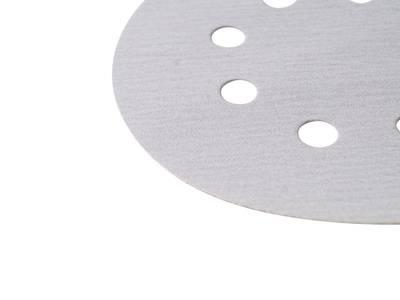 Круг шлифовальный на липкой основе Q.SILVER   D=125мм. 8отв. Р240 Изображение