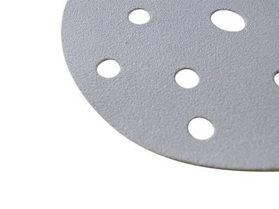 Круг шлифовальный на цепляющейся основе Q.SILVER D=150мм. 15отв. Р100 Изображение 2