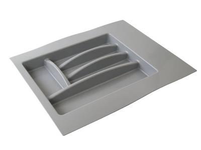 Лоток для столовых приборов Firmax Alpha, база 400-450мм, серый Изображение 5