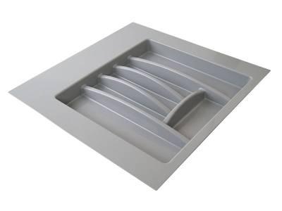 Лоток для столовых приборов Firmax Alpha, база 500-550мм, серый Изображение 5