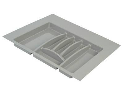Лоток д/столовых приборов Firmax Alpha, база 600мм, серый Изображение
