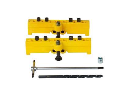 Комплект сверлильных шаблонов для ввертных петель, диаметр 14/16 мм, для дверей с наплавом Изображение