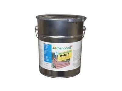 Масло защитное Rhenodecor Holzoil для древесины 20л белое Изображение 2
