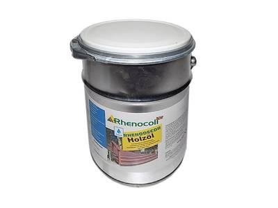Масло защитное Rhenodecor Holzoil для древесины 5л орех Изображение 2