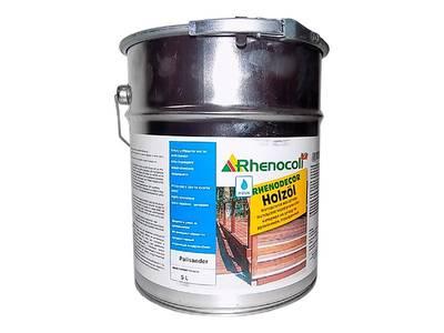 Масло защитное Rhenodecor Holzoil для древесины 5л палисандр Изображение 3