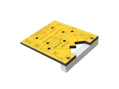 Мебельный шаблон для внутренних и накладных петель, МШ-06 Изображение