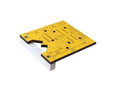 Мебельный шаблон для внутренних и накладных петель, МШ-06 Изображение 3