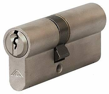 [ПОД ЗАКАЗ] Личинка замка двери Roto 31/40 (никелированный) Изображение