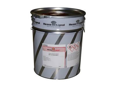 Лак-НЦ Hesse с высоким сухим остатком, бесцветный, шелковисто-матовый, 25л Изображение