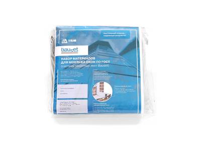 Набор материалов для монтажа окон по ГОСТ Bauset Изображение