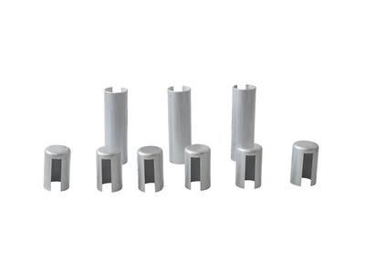 Накладка декоративная для врезных петель SIMONSWERK (2 внешних и 1 внутренняя накладка  в комплекте), пластик, цвет хром матовый Изображение 3