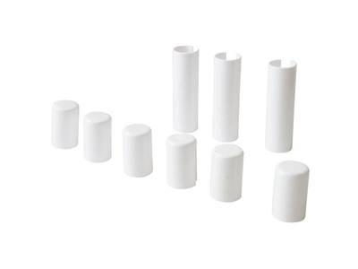 Накладка декоративная для врезных петель SIMONSWERK, пластик, цвет белый Изображение
