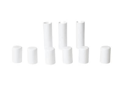 Накладка декоративная для врезных петель SIMONSWERK, пластик, цвет белый Изображение 2