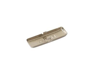 Накладка декоративная для петли Firmax на плечо петли, сталь, никель Изображение 2