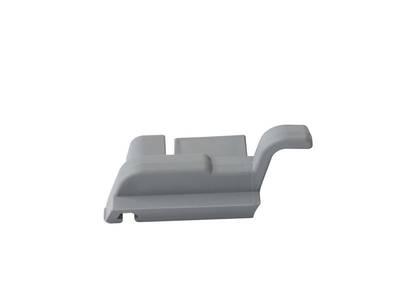 Накладка торцевая с переменным углом. 550/24C, левая, серебро Изображение