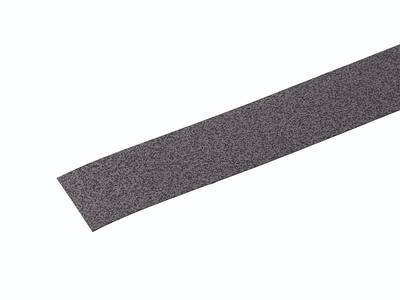 Термоклеевая торцевая накладка на подоконник Werzalit Exclusiv (610х36 мм, темный кварц) Изображение
