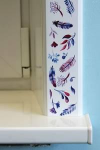 Наличник оконный Qunell N-75мм, УФ-печать (Акварель) белый 3,0 м Изображение 5