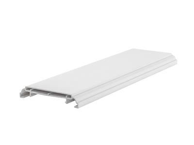 Наличник дверной Qunell N-75мм белый 6,0 м Изображение