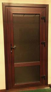 Наличник дверной Qunell N-75мм махагон (Renolit 2097-013) 6,0 м Изображение 2