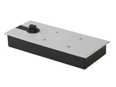 Напольный доводчик Elementis без фиксатора, комплект для алюминиевой двери 800 мм (до 80 кг) Изображение 2