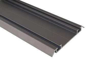 Направляющая нижняя FIRMAX, алюминий, янтарно-коричневый, L=5800 мм Изображение