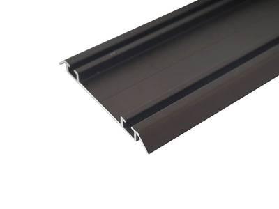 Направляющая нижняя, алюминий, L=5800 мм, бронза. Изображение 3
