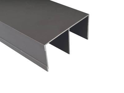 Направляющая верхняя, алюминий, L=5800 мм, бронза. Изображение