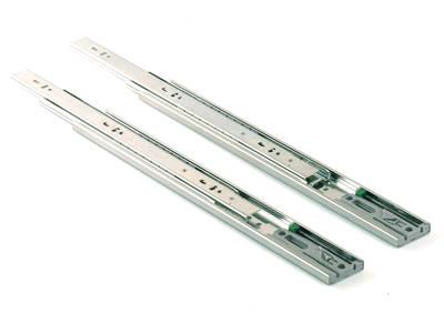 Шариковые направляющие полного выдвижения Firmax Push-to-Open, H=45 мм, L=450 мм Изображение