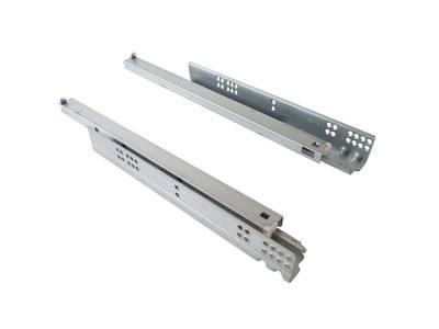 Направляющие скрытого монтажа Firmax (полного выдвижения) L=450мм, для ЛДСП 19 мм с доводчиком, (2 направляющие + 2 крепления) Изображение 4