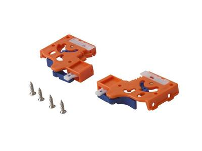 Направляющие Firmax L=550мм, д/ДСП 16мм с доводчиком, (2 напр.+2 крепл) Изображение 2