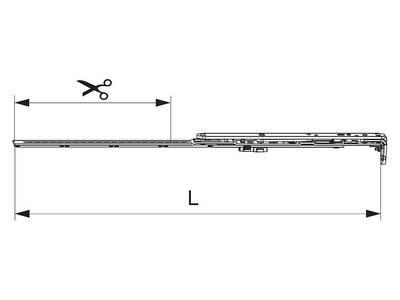 Ножницы ECO 431-600 мм Изображение
