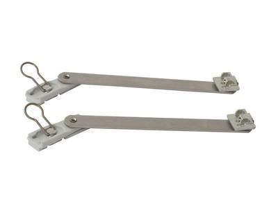 Ножницы фрамужные 150 мм RALLENTY, 2 штуки + 2 крепления, 02041000K Изображение 3
