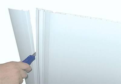 Откос с наличником Bauset VNT-Standart 250x10 6,0м белый лед неокрашеный Изображение 3