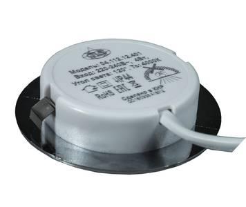 POLUS LED светильник точечный врезной, хром матовый, 220V, нейтральный белый 4000K, 160Lm, 4W Изображение 3