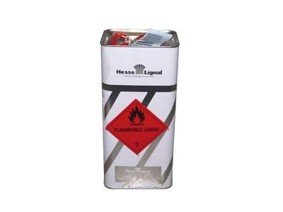 Лак полиуретановый для лестниц , паркета Hesse DE 433-7 шелковисто-глянцевый 5л Изображение