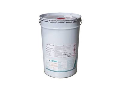 Лак полиуретановый LIGNUM 2100-25 бесцветный, полуматовый, 25л Изображение